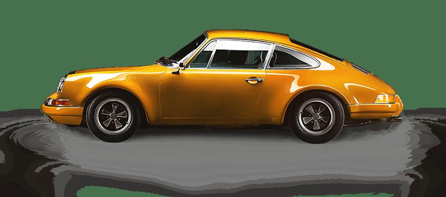 1967 Porsche 912 side shot