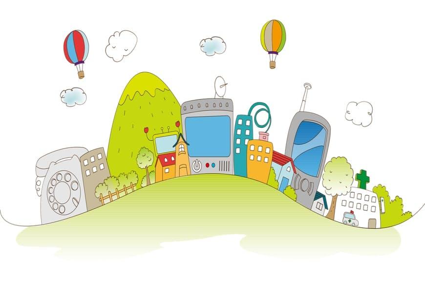 Digital city get green loans