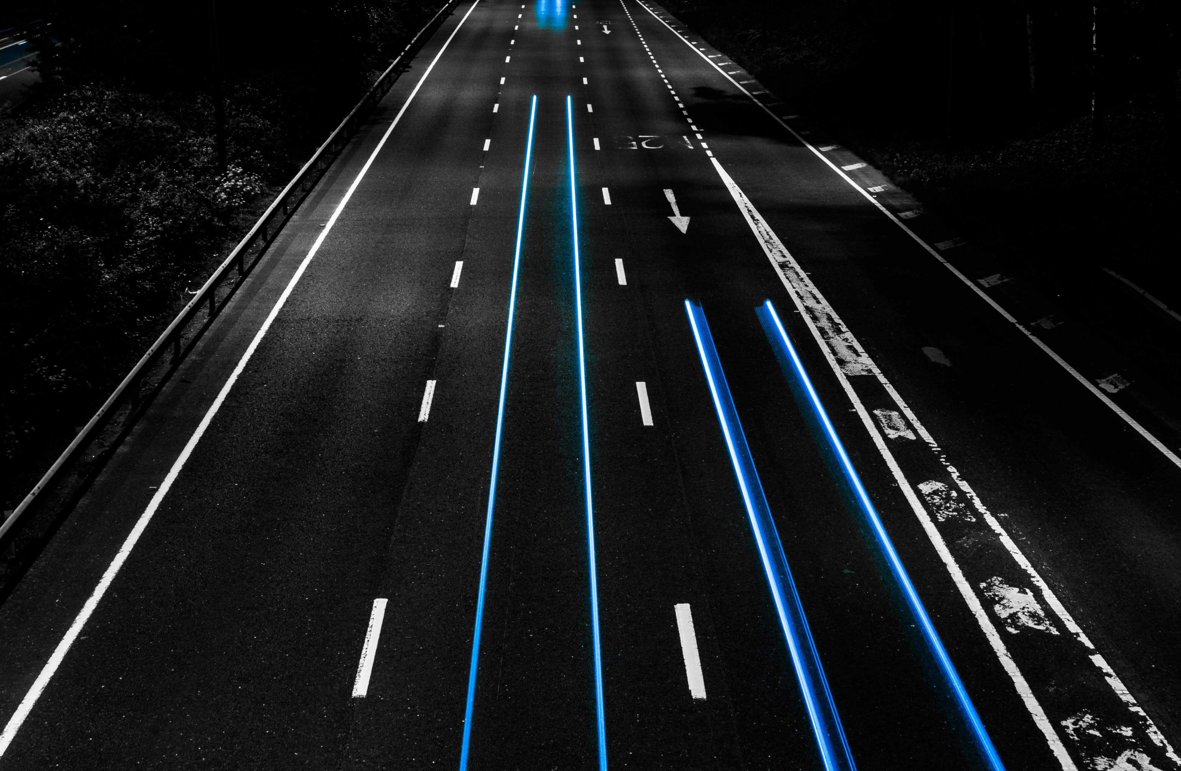 Empty motorways