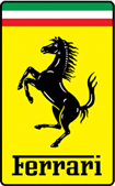 Car brand ferrari Logo