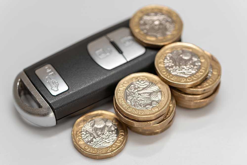 Car Key Cash Logbook Loan
