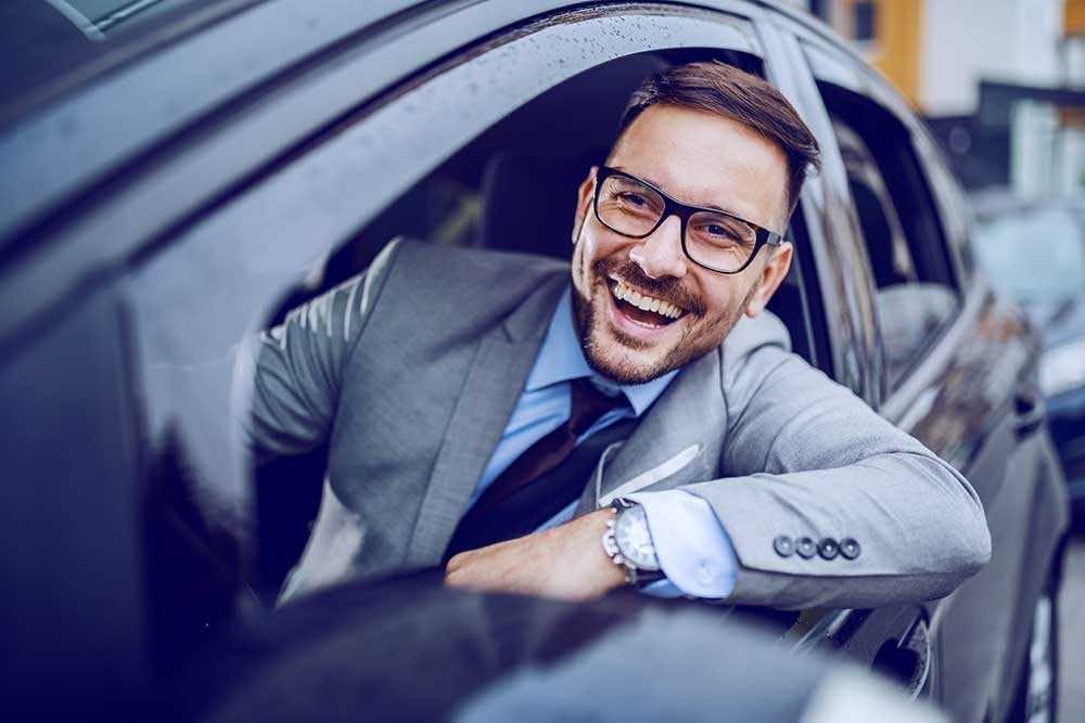 Expensive car businessman loan