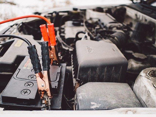 Jumper cables for roadworthy car