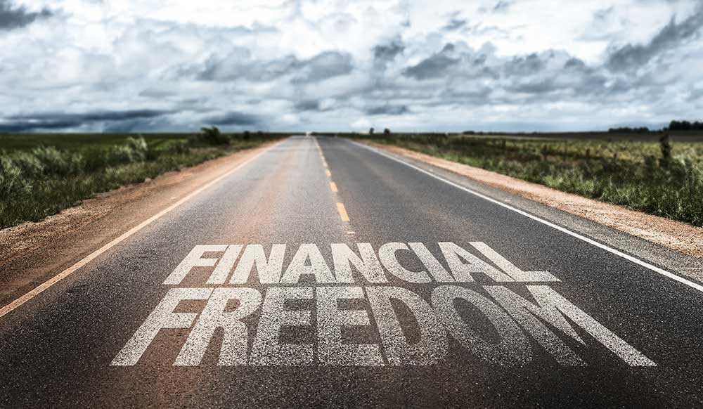Road to financial freedom1000x
